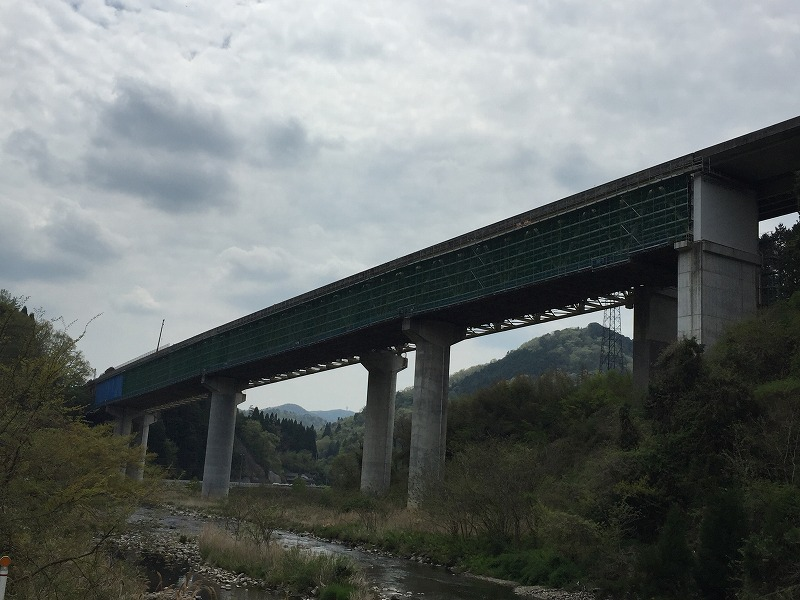 中国自動車道 北房IC~大佐スマートIC土木更新工事 小坂部川橋