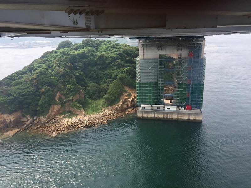与島橋(2径間部)他1橋耐震補強工事
