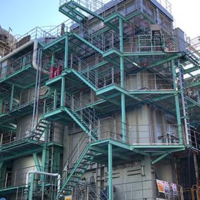 2号炉廃液および二次燃焼炉更新工事