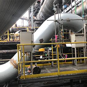 7CO Cガス管部分更新工事
