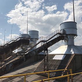 某製鐵会社岡山工場 製鋼DC建屋修理工事