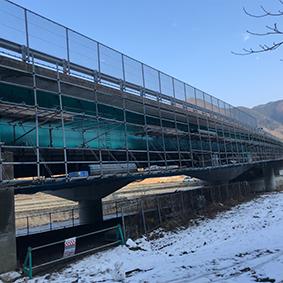 西川橋床板取替工事