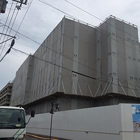 県庁南庁舎(地上部)解体・西庁舎改修工事