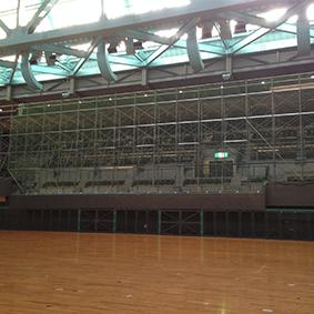 岡山市総合文化体育館改修工事